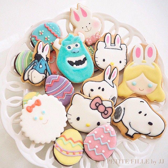ใกล้อีสเตอร์แล้น  เป็นเทศกาลที่สีสวยที่สุด! พาสเทลน่ารักโดนใจแม่ค้าจิงๆ  #petitefillebyjj #easter #bunnified #customcookies #icedbiscuit