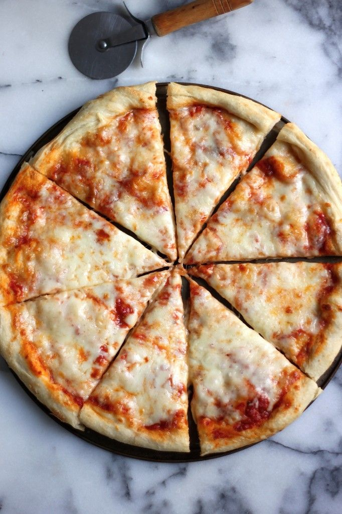 The Best New York Style Cheese Pizza Recipe Food Recipes