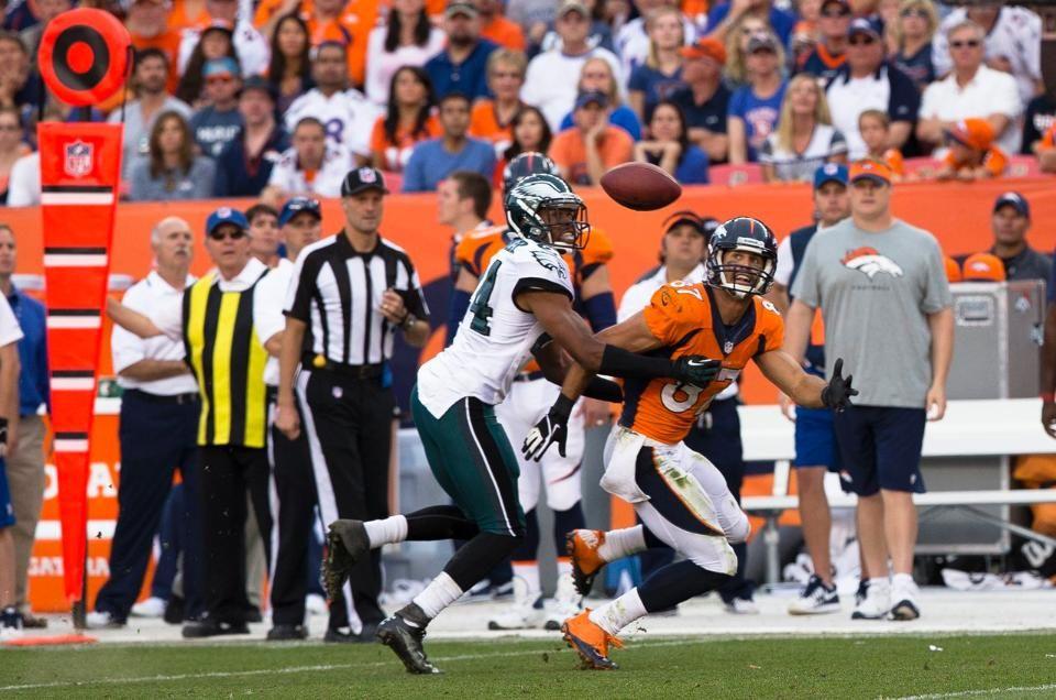InGame Photos Broncos vs. Eagles Broncos, Eagles, Photo