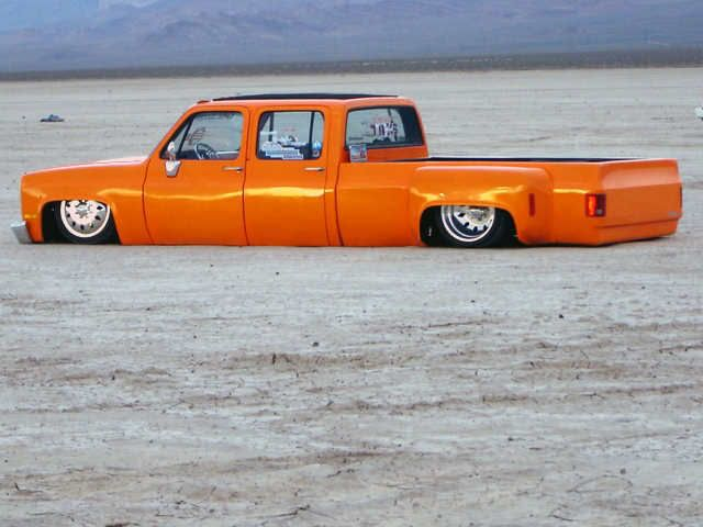 Air Bagged Dually Thread Showin Some L U V Lowrider Trucks