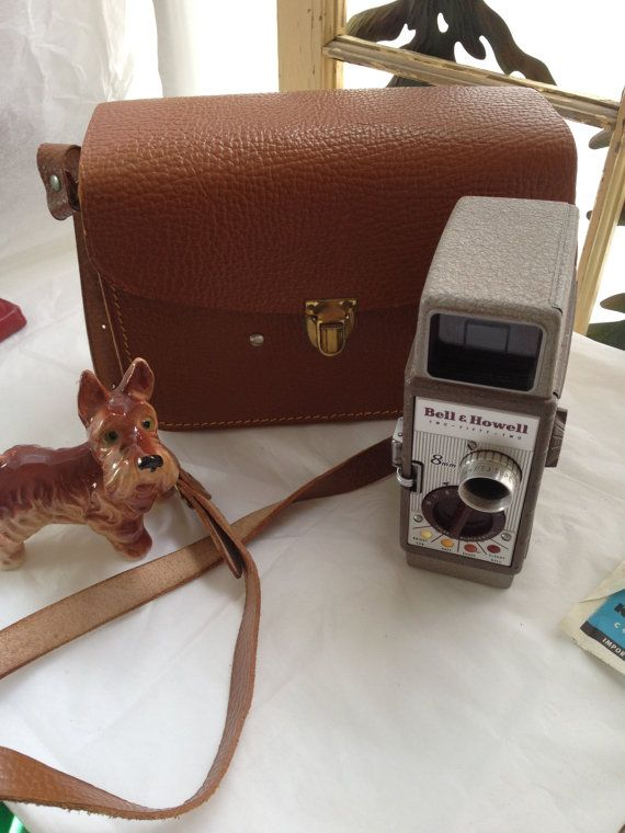 Vintage Movie Camera Bell Howell Recording Camera Vintage