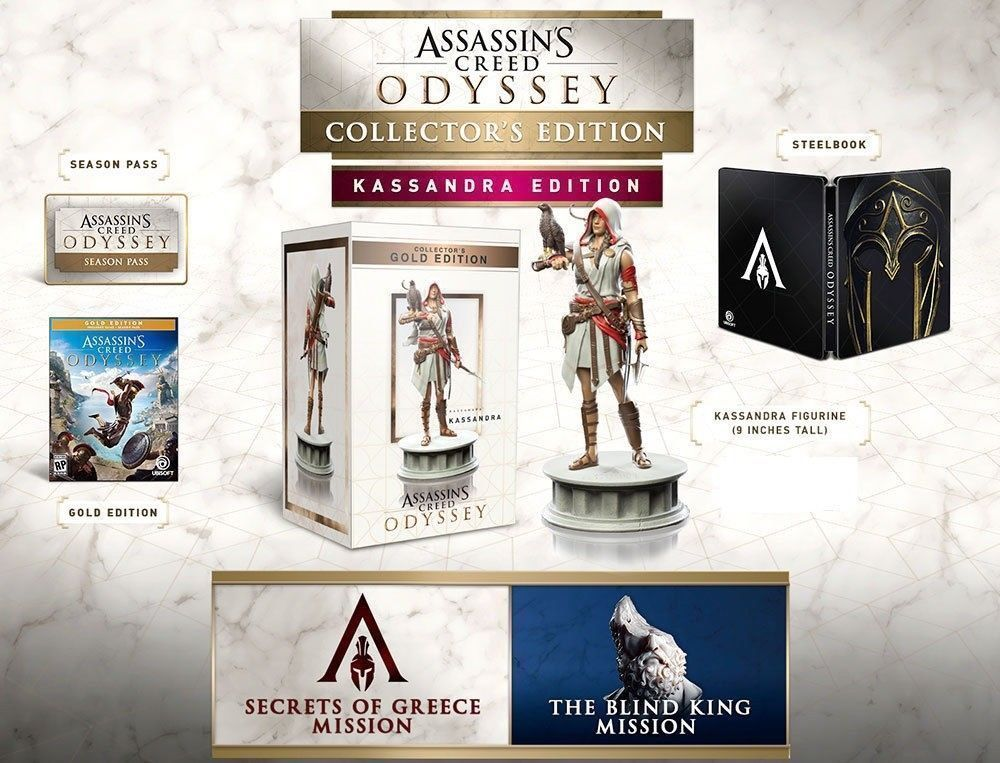 Assassin S Creed Odyssey Kassandra Collector S Edition Xbox One