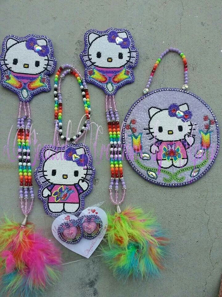 OMG! Too cute, how fun | Beadwork | Pinterest | Beaded ...