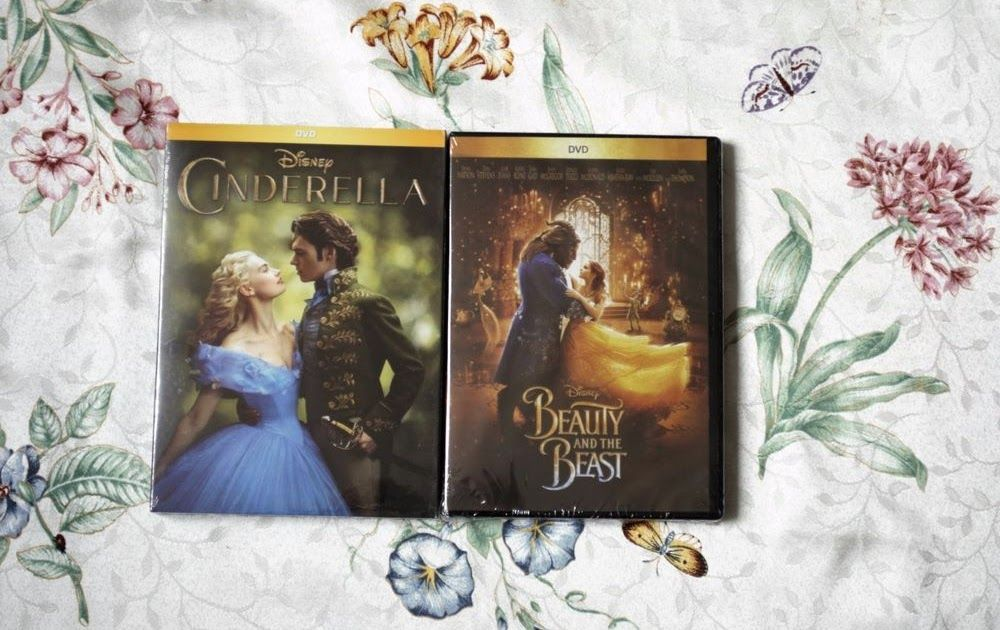 Beauty and the Beast and Cinderella Disney Princess Live Action Movie DVD USA