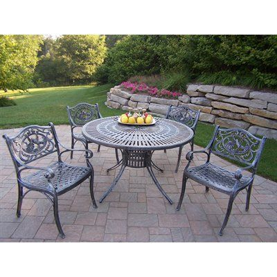Oakland Living Sunray Hummingbird 5 Piece Outdoor Dining Set #home Decor  Sale U0026 Deals