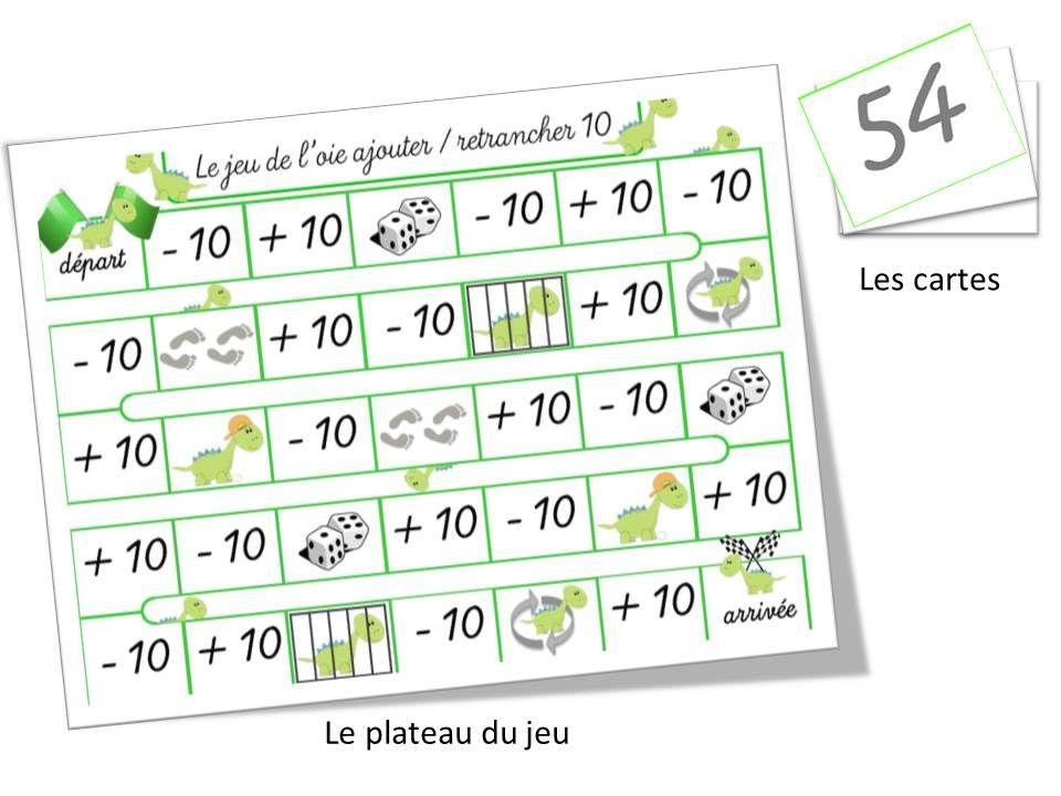 Jeu De L Oie Ajouter Retrancher 10 Jeux Calcul Jeux Mathematiques Mathematiques