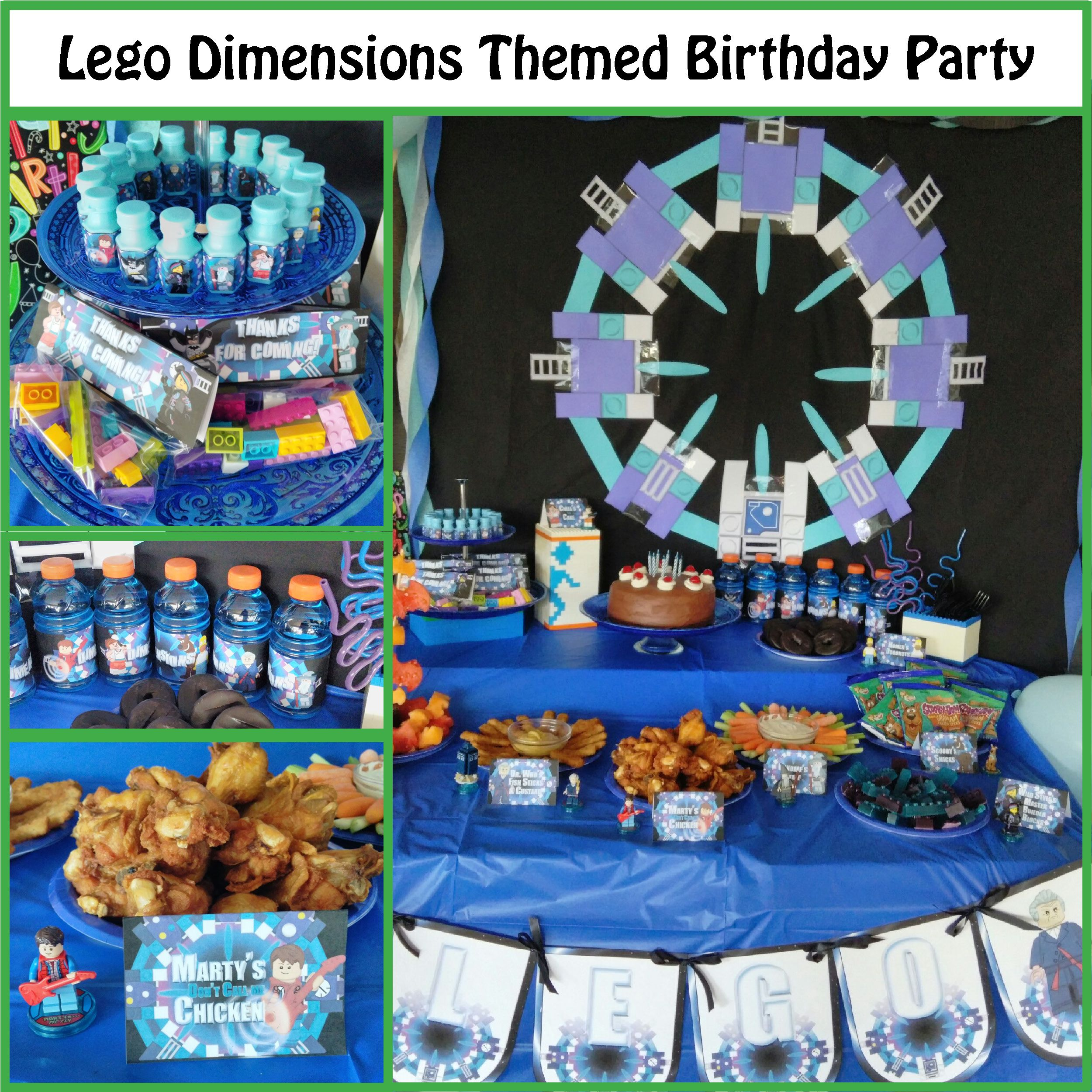 Lego Dimensions Portal Cake With Images Lego Party Lego