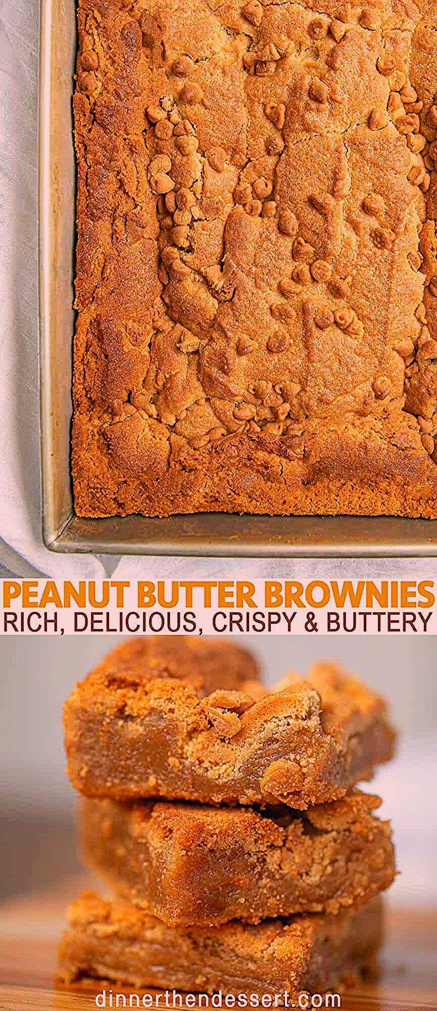 Photo of The BEST Ever Peanut Butter Brownies – Dinner, then Dessert