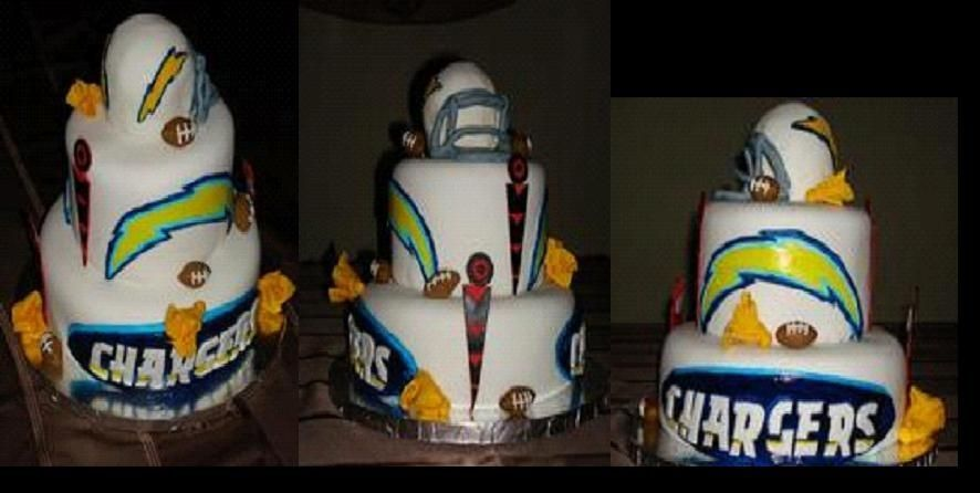 chargers birthday cakes | ... Chargers on it to dry completely before attaching it to the side of