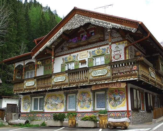 22 Carved Wood House Exterior Designs Celebrating Central European And  Russian Traditions