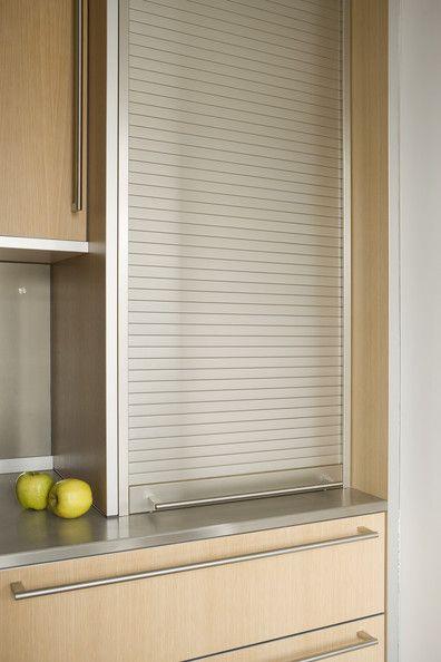 Retractable Cabinet Door Photos Design Ideas Remodel And Decor