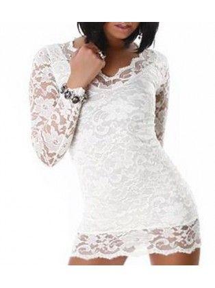 white long dress duongdayslook long fashion white