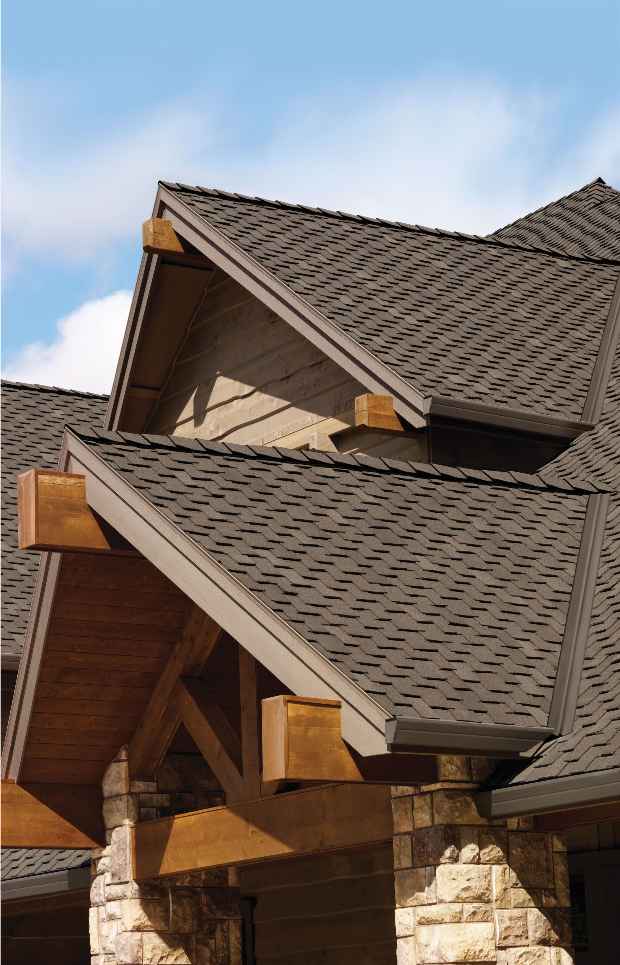 Best Create The Look Of Wood Shake With Woodcrest® Shingles 400 x 300