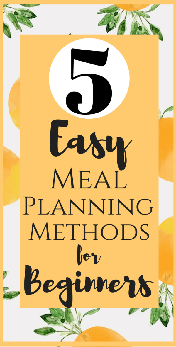 5 Easy Meal Planning Strategies for Beginners images