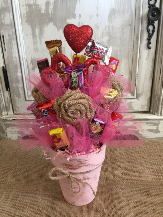 Candy Bouquet by MySalvagedStyle on Etsy | candy bouquet | Pinterest ...
