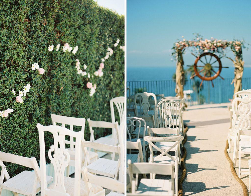 Beachy & Pastel Nautical Wedding | Archive Rentals | Krista Jon For ...