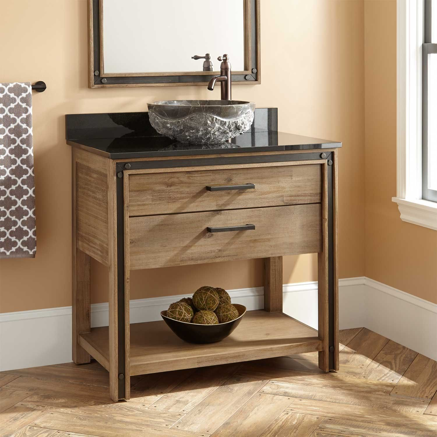 36 Celebration Vanity For Vessel Sink Bathroom Vanity Designs