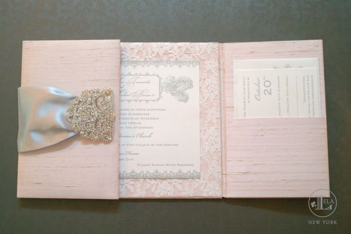luxury invitations: blush wedding inspiration featuring luxury, Wedding invitations