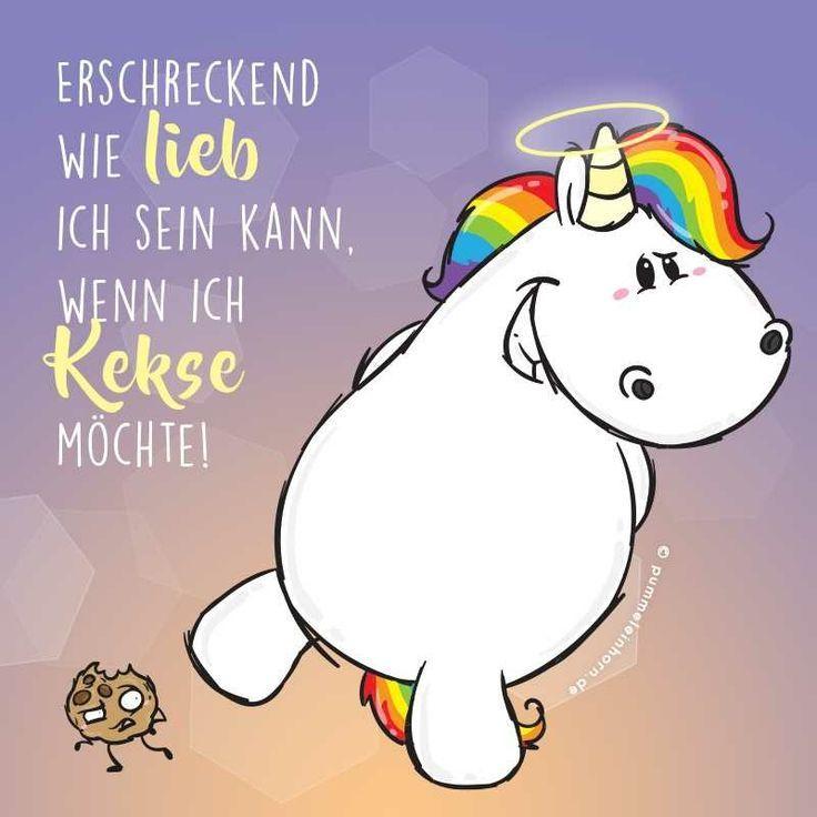 Wie lieb ich sein kann.. - Unicorns / Einhörner - #Einhörner #Ich #kann #lieb #sein #Unicorns #wie