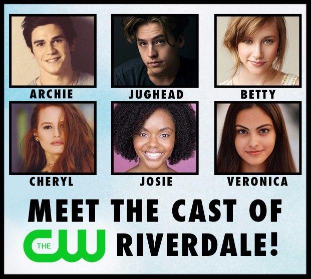 Meet the cast of the cws riverdale pilot archie movietv cast meet the cast of the cws riverdale pilot archie comics m4hsunfo