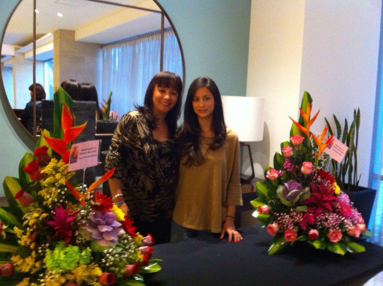 Con Angela Lopez, Directora en Calificación.
