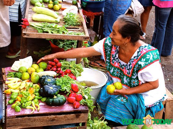 Fabulous food in merida s mercado yucatan today for Mercadillo del mueble merida