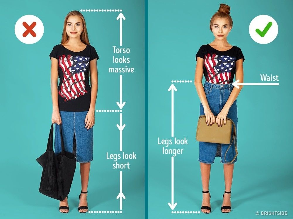 7 Tips For Petite Girls To Look Taller And Slimmer Style
