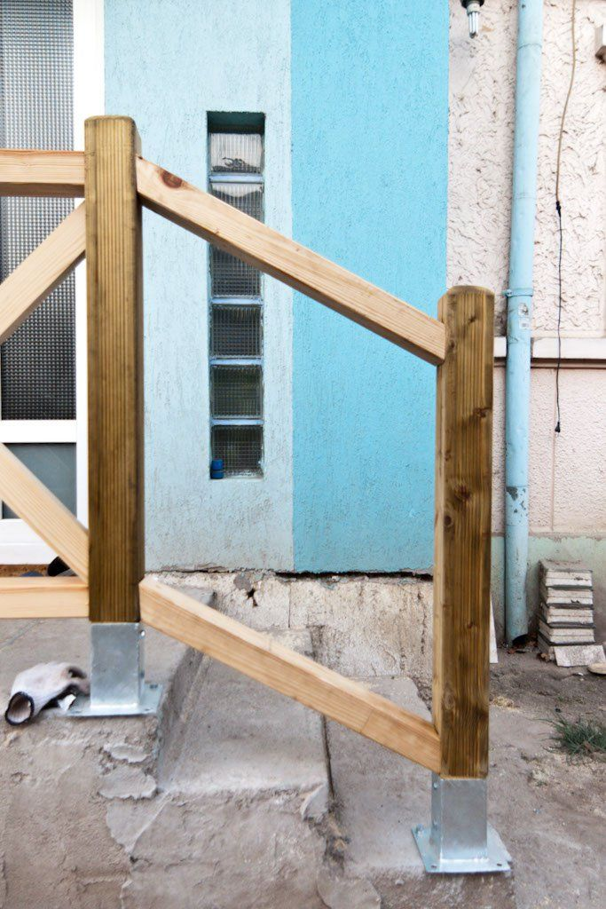 How To Build Deck Stair Railings Howtospecialist How To Build | Diy Deck Stair Railing | Easy | Outdoor | Aircraft Cable | House | Simple