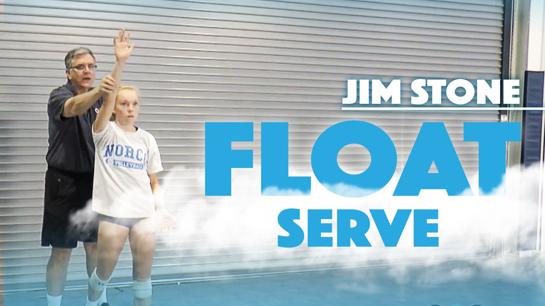 Jim Stone Mastering The Float Serve Coaching Volleyball Volleyball Training Team Coaching