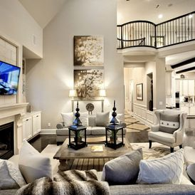 Transitional Family Room By Possibilities For Design Inc Family
