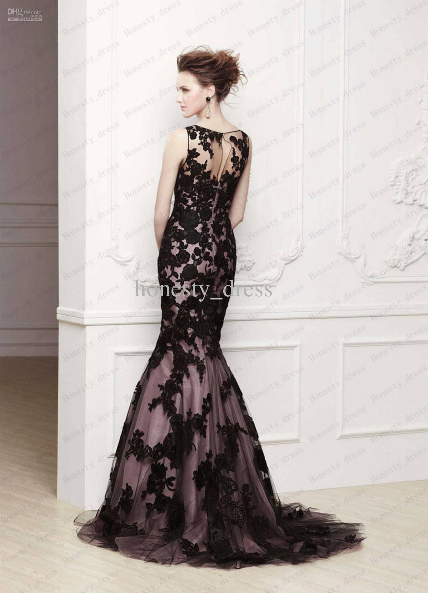 1000  images about Dresses on Pinterest - Lace- Mermaids and Black ...