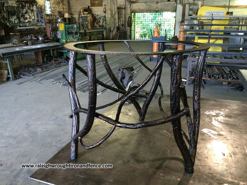 Chapel Hill NC Custom Made Iron Furniture   Raleigh Wrought Iron Co.