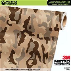 Large Desert Camouflage Vinyl Wrap Metro Restyling Vinyl Wrap Camo Wraps Camouflage