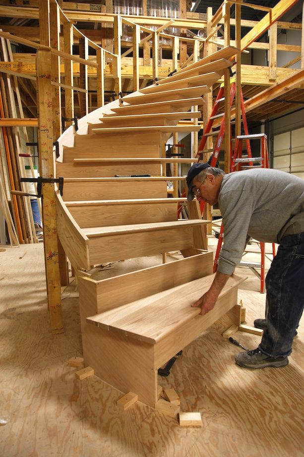 Best Curved Staircase Construction Escaleras Pinterest 400 x 300