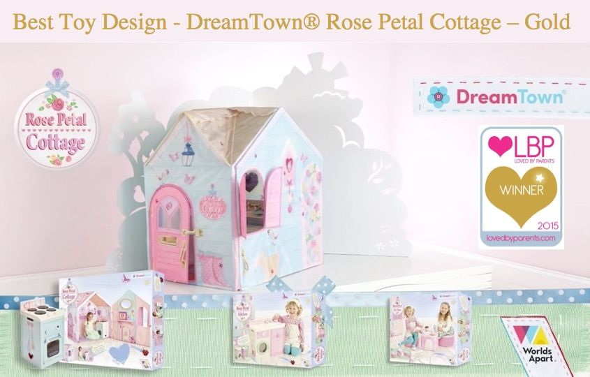 Dreamtown Rose Petal Cottage From Worlds Apart Dreamtown