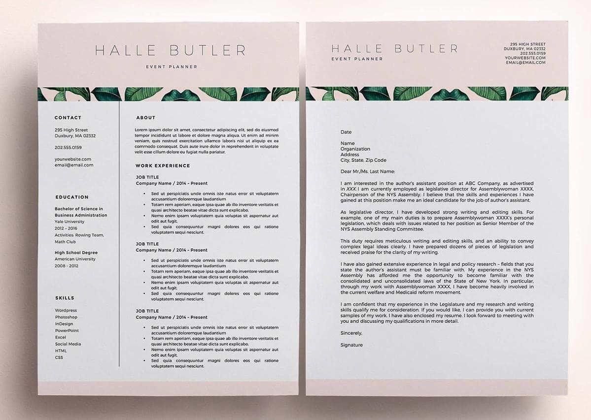 Resume Templates Unique Unique resume template, Creative