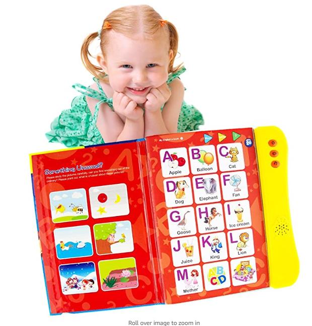 Alphabet Book, ABC Sound Book for Children. English ...