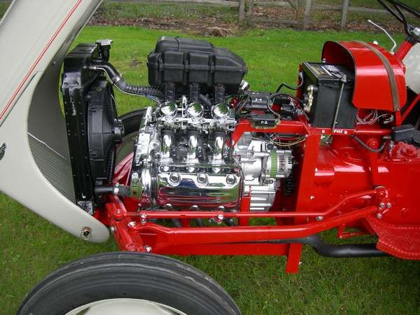 Valkyrie Engine In Ford 8N