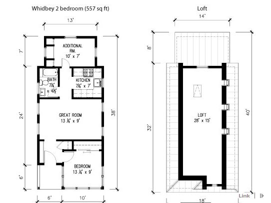 Tumbleweed Tiny House Company Whidbey Small House Plans | Micro