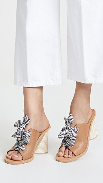 Dolce Vita Amber Leather Slide Sandals u0P1P