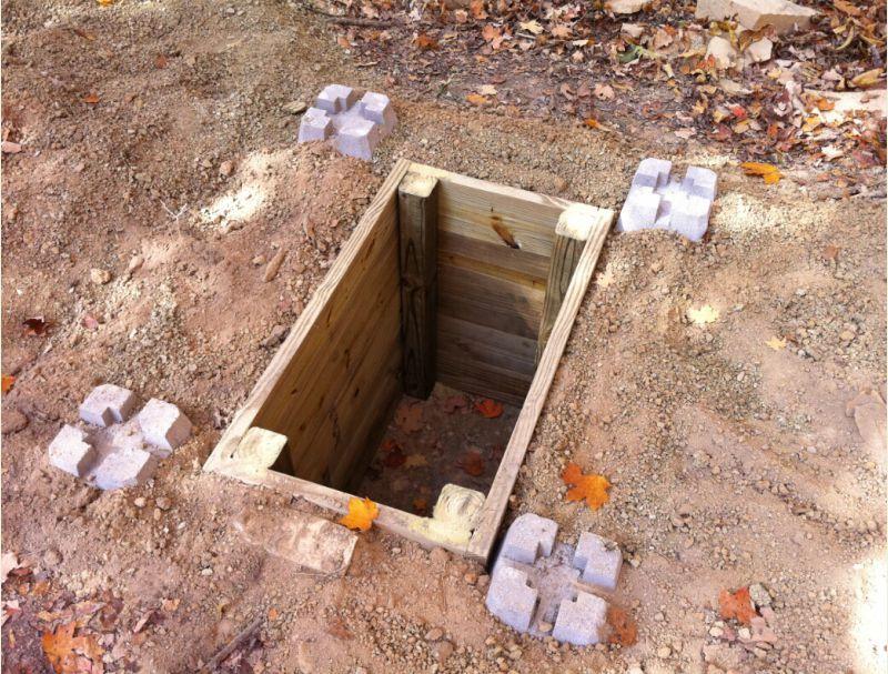 Pit Toilets Construction : Outhouse pit … pinteres…