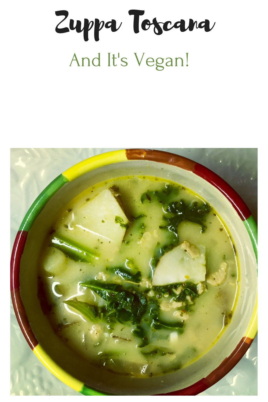 Easy One Pot Vegan Zuppa Toscana (Olive Garden Copy Cat
