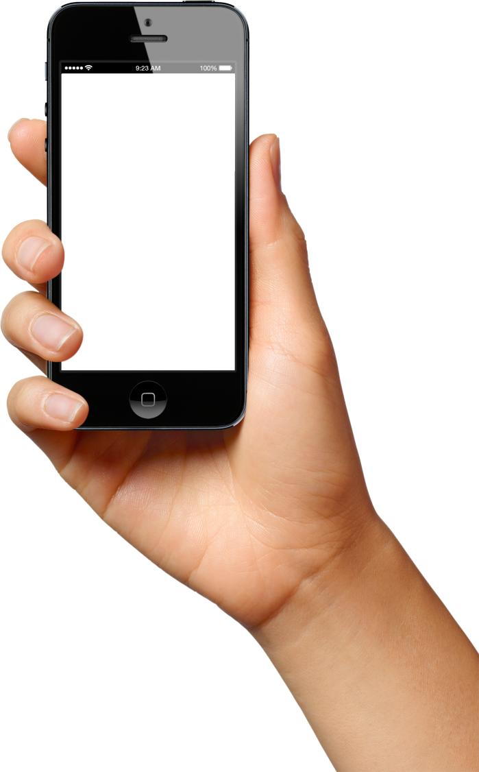 Phone In Hand Png Smartphone Projector Phone Iphone