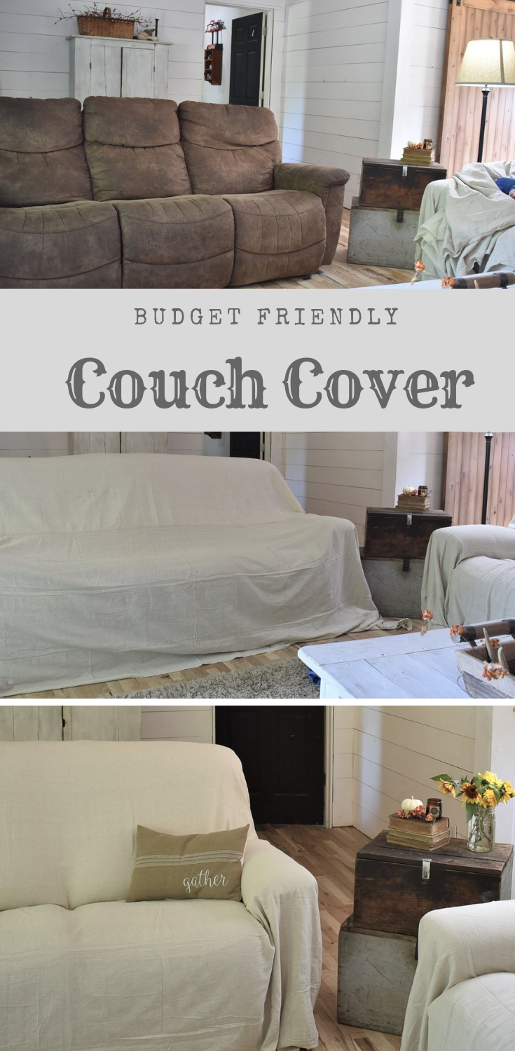 Surprising Drop Cloth Covered Couch Cover Diy Sofa Cover Couch Onthecornerstone Fun Painted Chair Ideas Images Onthecornerstoneorg