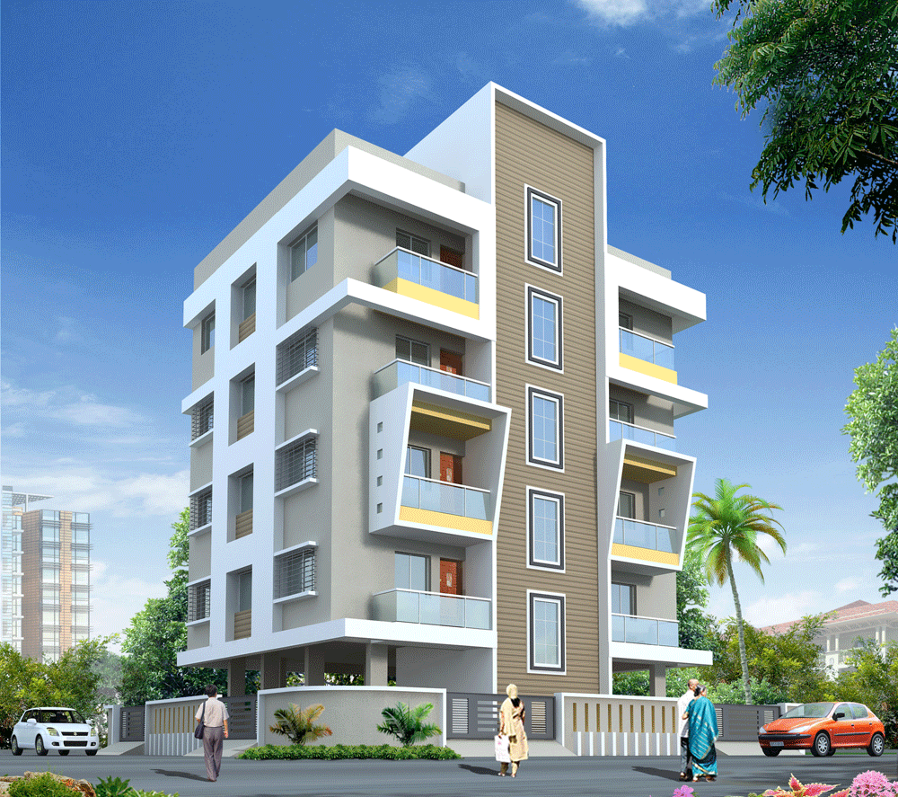 Get 1 BHK And 2 BHK Residential Flats Are Availabe At Meri