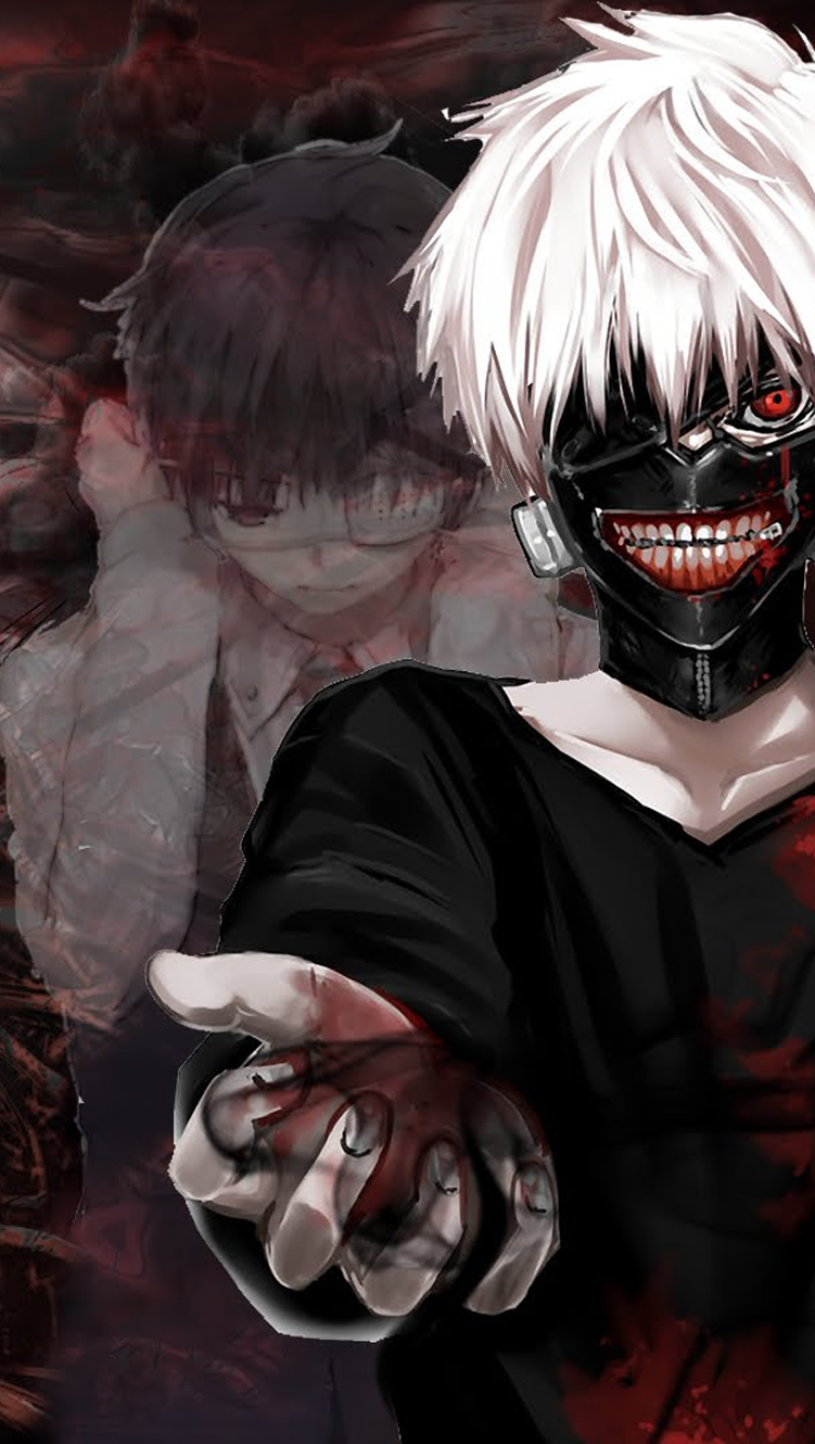 Tokyo Ghoul HD wallpaper http//apple.co/1SXifkn Action