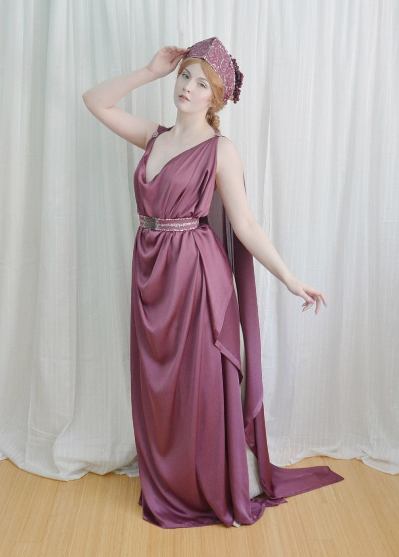 The Grecian Costume : Making a Chiton, Crown, and Girdle   Crown ...