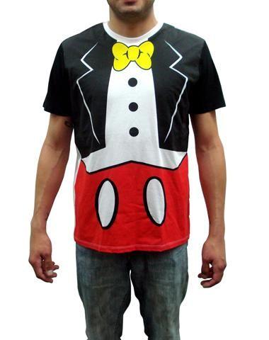 c47cb6721 Disney I Am Mickey Adult Tuxedo T-Shirt   Disney Style   Disney ...