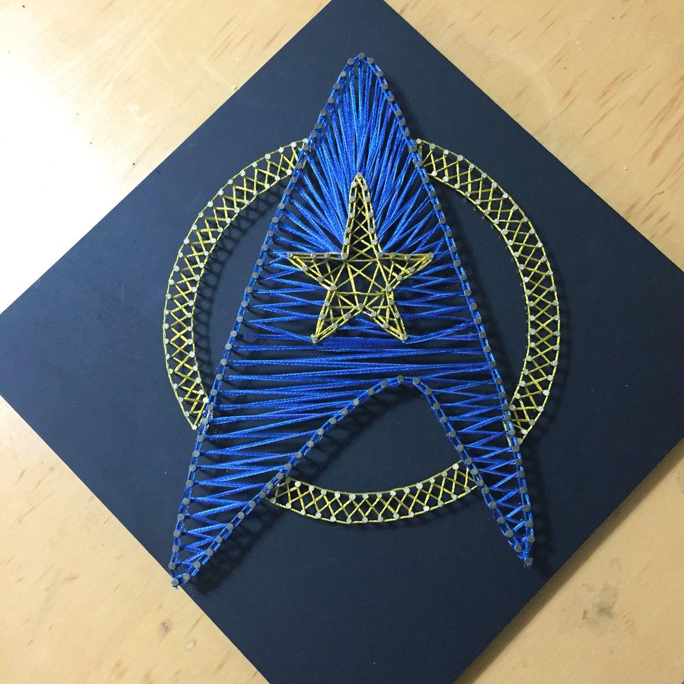 Star Trek String Art …   Pinteres…