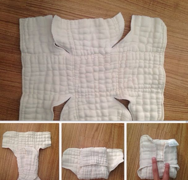 Prefold//Fitted Hybrid One Size Fits All Quick Dry Diaper 1 MamaBear